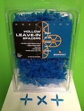 """Barwalt Hollow Leave-In Spacers 1/8""""  +   500 pcs per box"""