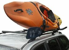 Kayak Roof Rack J bars for sea kayak & white water play boat