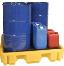 NEW FOUR DRUM BUND WITH PLATFORM FOR DRUMS OR VARIOUS JERRICANS OIL LIQUIDS