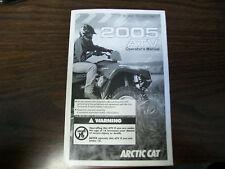 Arctic Cat Snowmobile 440 500 600 800 owners manual maintenance OEM NO RESERVE