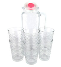 Glaskaraffe mit 6 Gläsern von LAV - Karaffe (1,2l) und Gläser (200ml)