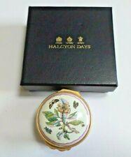 Halcyon Days Enamels Trinket Box from Chelsea Porcelain Plate After Ehret