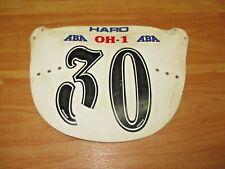 Haro Number Plate Old School BMX Zeronine ABA Class #1