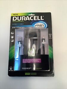 DURACELL RECHARGEABLE HI PERFORMANCE 2.1 AMP CAR CHARGER