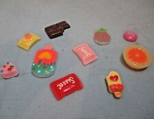 Littlest Pet Shop Lot 10 Random Sweet Chocolate Ice Cream Candy Cake Accessories