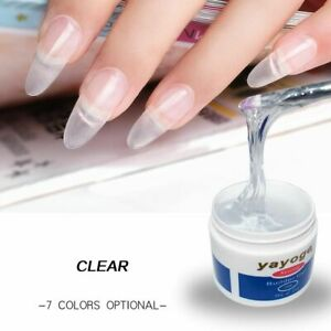 Extensions Camouflage UV Nail Gel Builder Quick Building Polish Manicure Art New