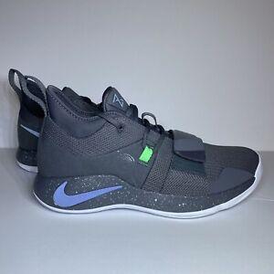Nike PG 2.5 Paul George PG13 Dark Grey Mint White Green BQ8452 007 Size 10