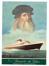 Nave Leonardo ITALIA Navigazione