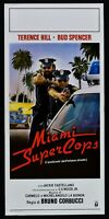 Cartel Supercops Miami Terence Hill Bud Spencer Corbucci N48