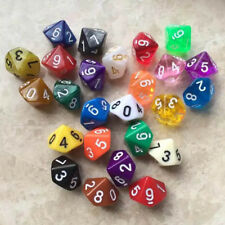 4 Pcs 10 Sided Dice D10 Role Playing Game Dungeons & Dragons D&D TRPG Game Dice