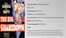 FILM NOIR X73: THE BIG SHAKEDOWN (1934) Charles Farrell, Bette Davis, Ric Cortez