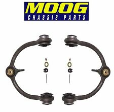NEW Jeep Commander 06-10 Grand Cherokee 05-10 Front Upper Control Arm Pair Moog