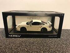 Porsche 911 GT2 2007 White 1:18 Norev