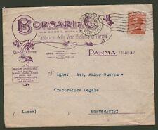 PARMA. BORSARI PROFUMI. Busta viaggiata nel 1926. Ottima conservazione.