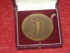 [Coll.J. DOMARD SPORT] MEDAILLE JEUX OLYMPIQUES 1rst WINTER GAMES CHAMONIX 1924!