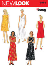 Look 6866 Size A Misses Dresses Sewing Pattern, Multi-Colour