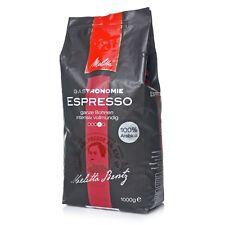Melitta Gastronomie Espresso 8 x 1Kg 100% Arabica Kaffee ganze Bohnen