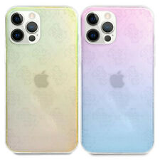 Custodia cover originale Guess trasparente 3D RAISED per Apple iPhone 12 e Pro