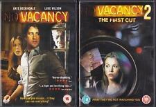 VACANCY 1 & 2 [One,Two] Kate Beckinsale*Luke Wilson Cult Torture Horror DVD *EXC