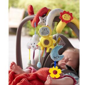 Baby Crib Cot Pram Hanging Rattle Spiral Stroller Car Seat Pushchair Toy