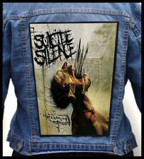 SUICIDE SILENCE - The Cleansing --- Giant Backpatch Back Patch