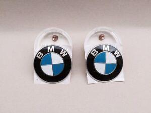 2003-2008 BMW Z4 E85 E86 CLEAR SIDE MARKER & EMBLEM SET OEM BMW ONLY 3.0-2.5 NEW