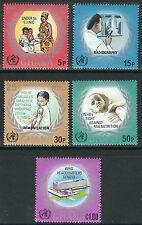 Ghana - 25 Jahre WHO Satz postfrisch 1973 Mi.Nr. 500-504