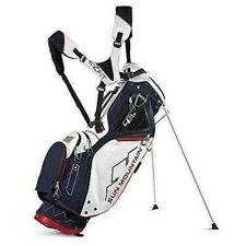 Sun Mountain 4.5 LS 4 Way Stand Golf Bag, Navy/White/Red with Free Shipping!