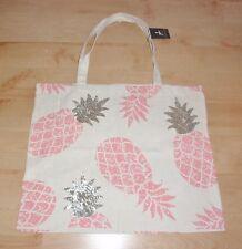BNWT Primark womens sequin pineapple large tote shoulder bag