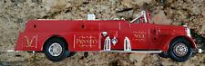 1994 JC Penny 1955 Ward La France Fire Truck Bank Die Cast 1/30 Ertl