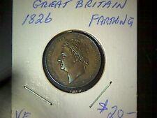 Great Britain 1826 Farthing