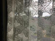 72 Inches x 48 Inches Cream Net Curtain