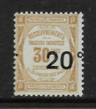 Mint Never Hinged/MNH Postage Due French & Colonies Stamps