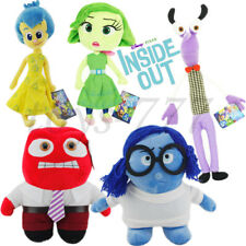 5X Inside out Cartoon Movie Joy Disgust Fear Sadness Anger etc. Plush Toys Doll