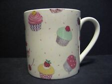 Extra Large Fine Bone China One Pint Pot Mug Cup Cakes Decorated By Heron Cross
