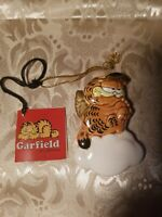 VINTAGE 1978 GARFIELD Angel Ornament JIM DAVIS with tag