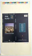 MEGA RARE Set 7 DIFFERENT Pink Floyd Momentary Lapse of Reason Printers Proofs!