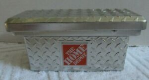 Home Depot Gift Card Holder - Silver Tool Box