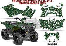 AMR Racing DECORO GRAPHIC KIT ATV POLARIS SPORTSMAN modelli DIGI CAMO B