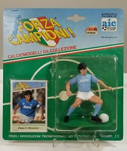 Lot of (10) Diff 1989 FORZA CAMPIONI Soccer w/ Diego Maradona FIGURE SLU Kenner