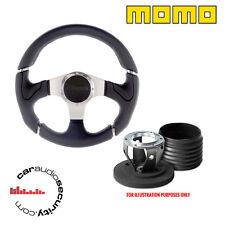MOMO M/Sport nero VOLANTE & Boss Kit Mozzo Per Land Rover 2015 > 48 Spline