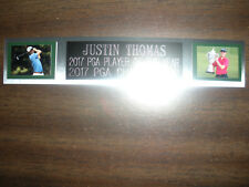 JUSTIN THOMAS (GOLF) NAMEPLATE FOR AUTOGRAPHED BALL DISPLAY/FLAG/PHOTO