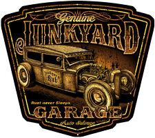 Classic Hot Rod JunkYard Garage Shop Art Sign15x13