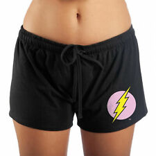 The Flash Women's Sleep Shorts Black