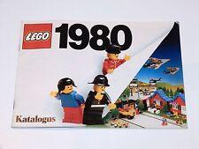LEGO 1980 CATALOG FOLDER 'KATALOGUS' DUTCH