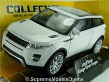 RANGE ROVER EVOQUE MODEL CAR 1:38 SCALE WHITE PACKAGED WELLY ISSUE 4X4 K8Q