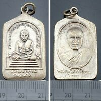 Antiques Pendant LP Thuad Tuad LP Tim Magic Holy Talismans Luck Thai Coin Amulet