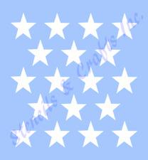 "1.5"" STAR STENCIL STARS CELESTIAL STENCILS TEMPLATE BACKGROUND PATTERN CRAFT NEW"