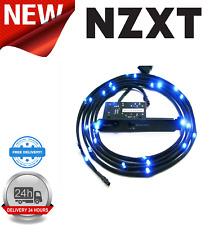 NZXT CB-LED10-BL Blue Sleeved LED Kit with PCI Light Sensivity Card 100cm