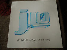 "Jennifer Lopez Ain't It Funny RARE Promo 12"" Single"